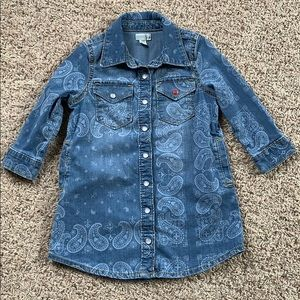 Gymboree Denim Dress Size 18-24 Months